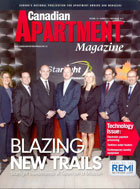 Canadian Apartment Magazine - Electronic Paying Processing of rent to landlords in Canada, TenantPay