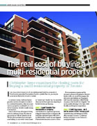 Canadian Real Estate Wealth magazine - Closing Costs for Investment Property